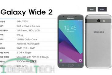 گلکسی واید ۲ تلفن هوشمند مقرون به صرفه سامسونگ معرفی شد