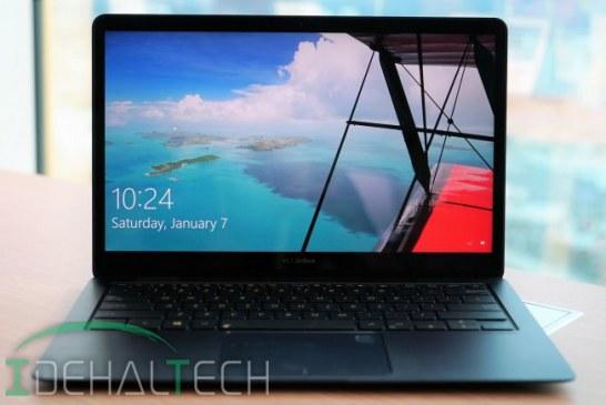 لپتاپ پریمیومی ZenBook 3 Deluxe ایسوس معرفی شد