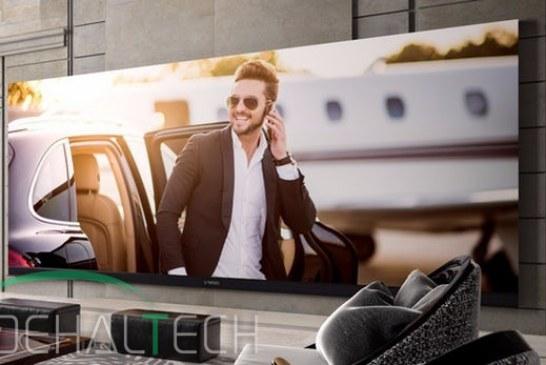 آشنایی با بزرگترین و گران قیمت ترین تلویزیون ۴K جهان