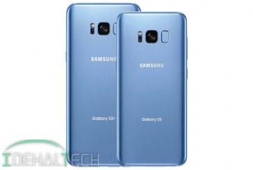 گلکسی S8 و S8 Plus با رنگ آبی مرجانی بزودی در بازار