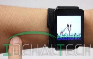 با استفاده از فناوری SkinTrack پوست دست به صفحه لمسی ساعت هوشمند تبدیل میشود
