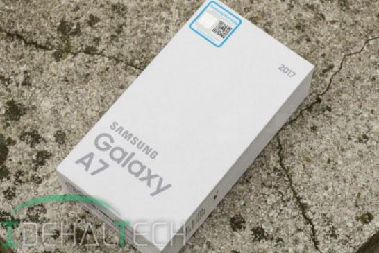 کمپانی سامسونگ گلکسی A7 مدل ۲۰۱۷ را مجهز به دستیار صوتی بیکسبی کرد