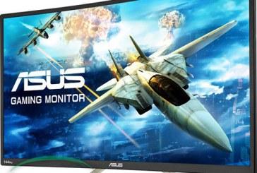 نمایشگر LCD منحنی جدید ایسوس معرفی شد