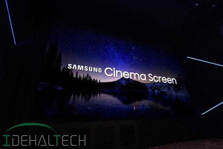 اولین نمایشگر سینما LED جهان توسط کمپانی سامسونگ رونمایی شد