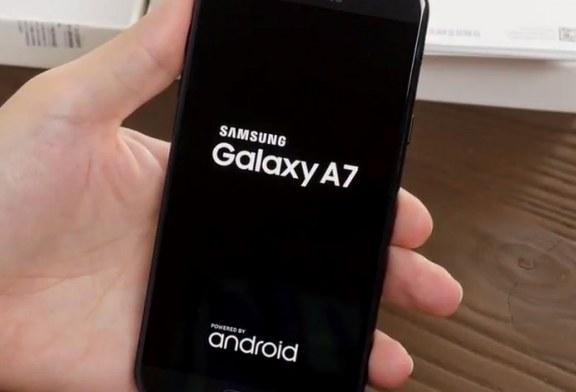 بررسی مختصر Galaxy A7 2017