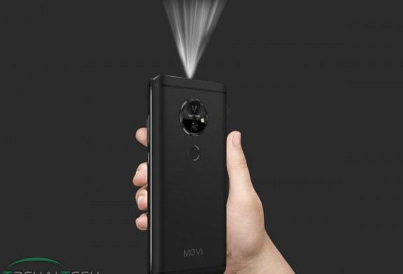 گوشی هوشمند Moviphone با ویدیو پروژکتور داخلی