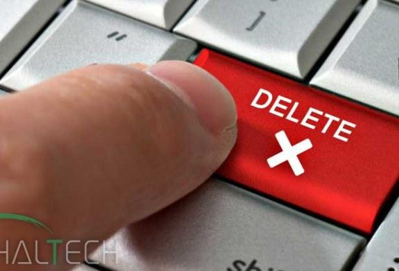 آموزش حذف اکانت در شبکه های اجتماعی