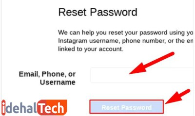 نام کاربری یا ایمیل خود را وارد کنید.