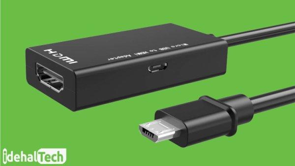 آداپتور HDMI با پورت Micro USB