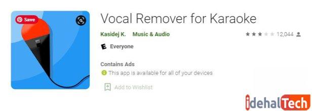 Vocal Remover for Karaoke