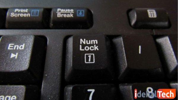 """""""Num Lock"""" را فعال کنید"""