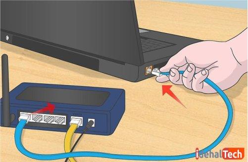 لپ تاپ را به لپ تاپ وصل کنید