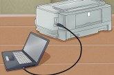 وصل چاپگر به کامپیوتر