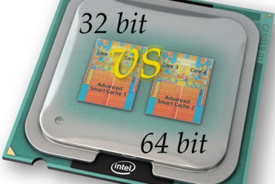 تفاوت ویندوز ۳۲ و ۶۴