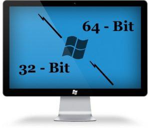 تفاوت ویندوز 32 و 64