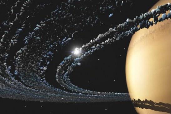 چرا سیاره زحل حلقه دارد؟
