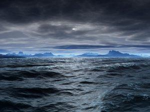 چرا دریا آبی است؟