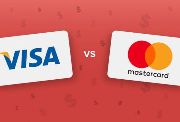 تفاوت ویزا کارت و مستر کارت