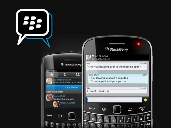 پیام رسان BlackBerry Massenger