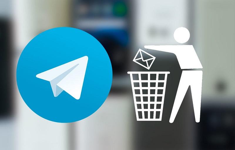 حذف اکانت تلگرام دیلیت اکانت