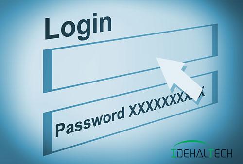 خطر نام کاربری و رمز عبور مشترک