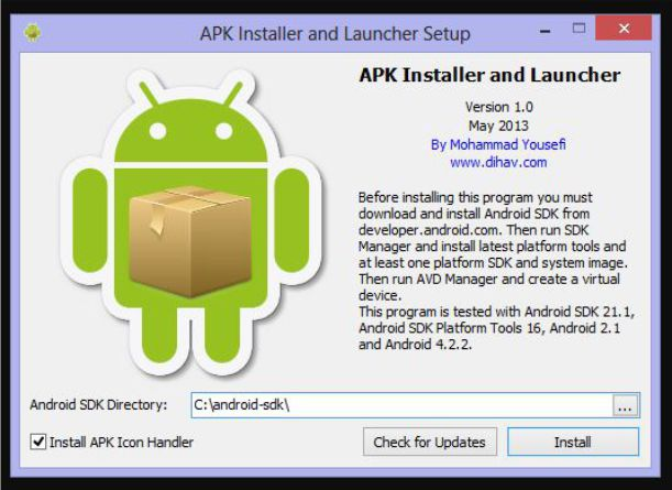 APK Installer and Launche