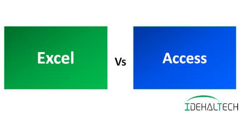 تفاوت اکسل و اکسس