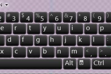 صفحه کلید مجازی ویندوز ۷