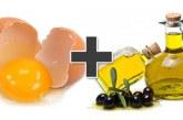 ماسک تخم مرغ و زیتون برای آبرسانی و ترمیم موهای آسیب دیده