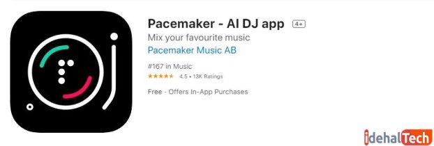 اپلیکیشن Pacemaker - AI DJ app