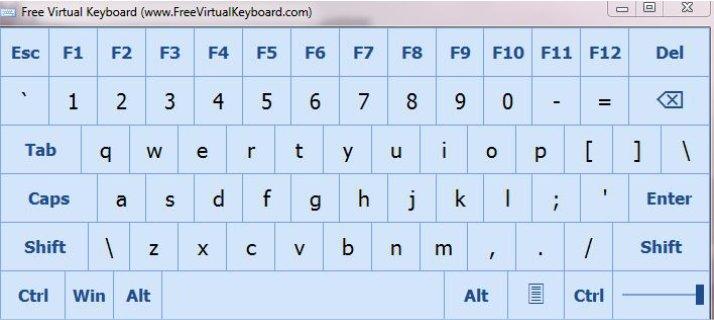 دانلود صفحه کلید مجازی