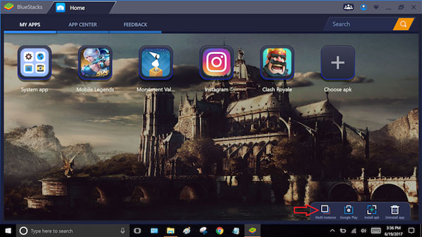 نصب نرم افزار اندروید روی ویندوز با BlueStacks