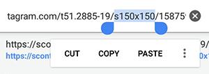 آموزش تصویری ذخیره عکس پروفایل در اینستاگرام
