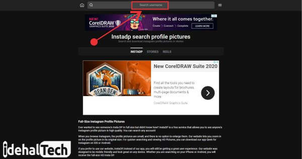 دانلود عکس پروفایل با instadp