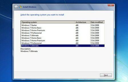 انتخخاب نسخه مناسب ویندوز 7