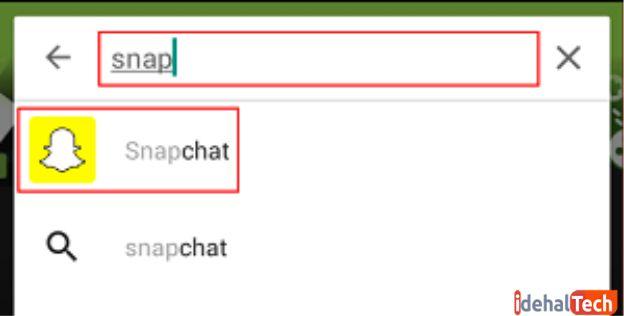 snapchat را جستجو کنید