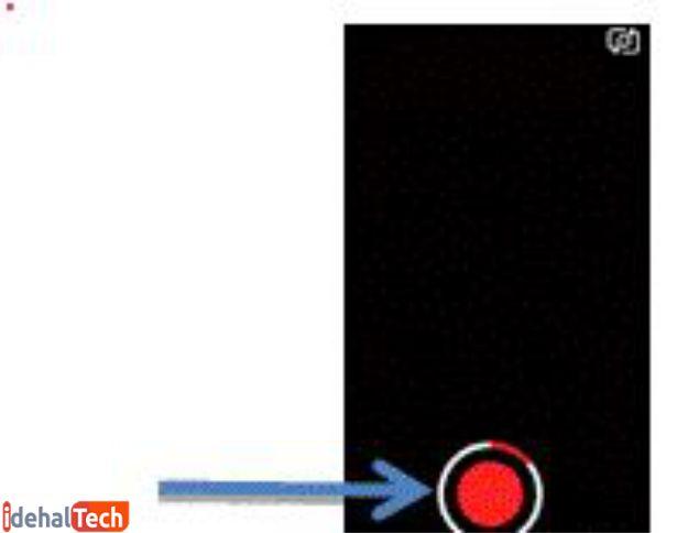 ارسال ویدئو در اسنپ چت