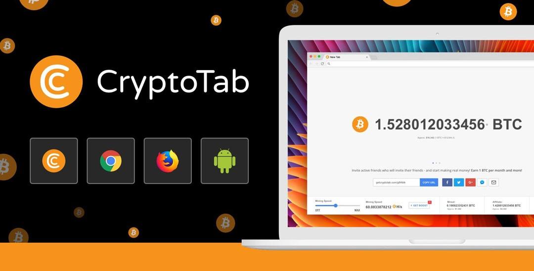 نصب مرورگر CryptoTab