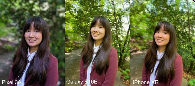 مقایسه گوشی Pixel 3a ، گلکسی اس 10 و iPhone XR