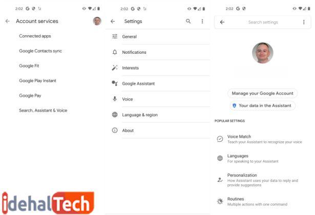 دستیار صوتی گوگل در آیفون