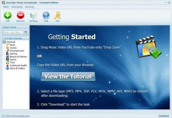 نرم افزار دانلود از یوتیوب Youtube Movie Downloader