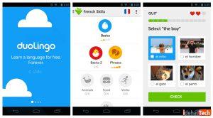 دانلود اپلیکیشن یادگیری زبان Duolingo
