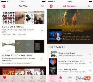 برای شما در اپل موسیقی apple music