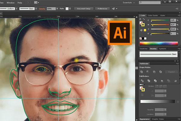 برنامه ایلاستریتور Adobe illustrator