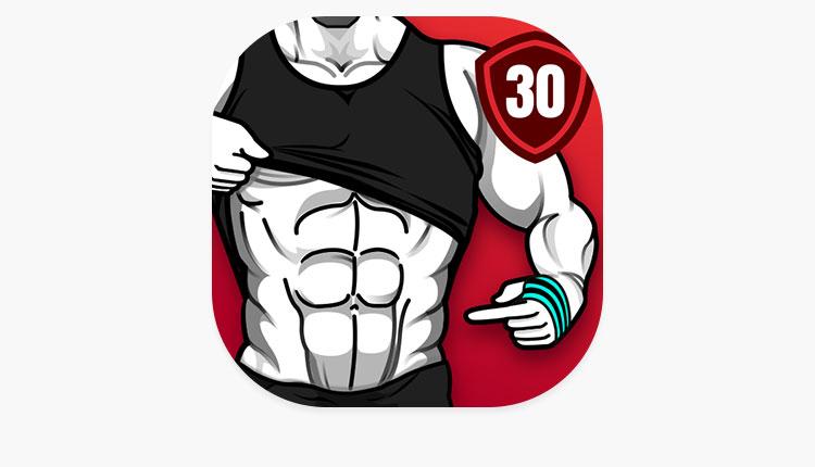 برنامه تمرین ورزشی برای شکم شش تکه در 30 روز Six Pack in 30 Days