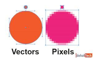 تفاوت فتوشاپ و Illustrator چیست؟