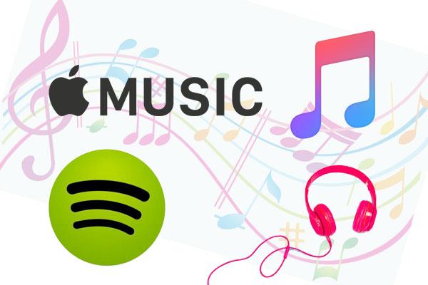 کشف موسیقی جدید در Spotify و Apple Music