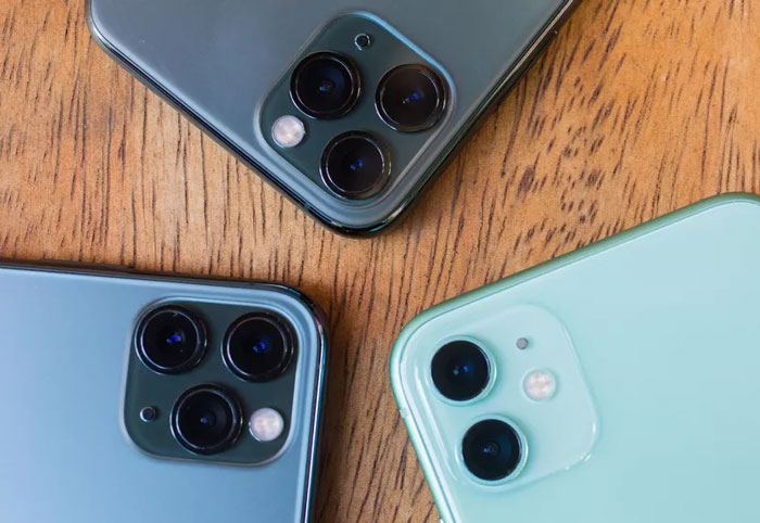دوربین های اپل آیفون 11
