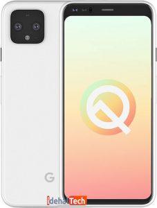 تصاویر رسمی گوشی Google Pixel 4