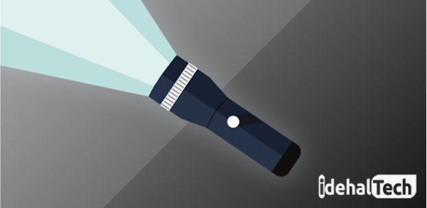 برنامه چراغ قوه برای اندروید flashlight
